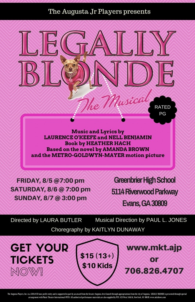 Leagally Blonde Tickets 37